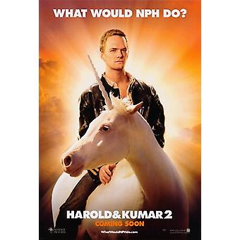 Harold e Kumar Escape from Guantanamo Bay Movie Poster (11x17)