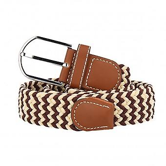 7details woven belt belt beige-Brown