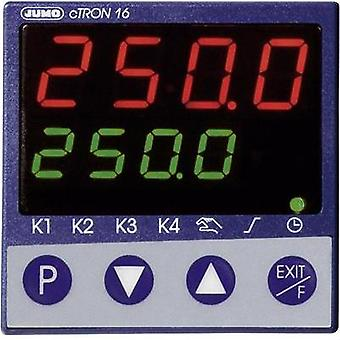 Jumo 00495588 cTRON16 Compact Controller With Timer And Ramp Function