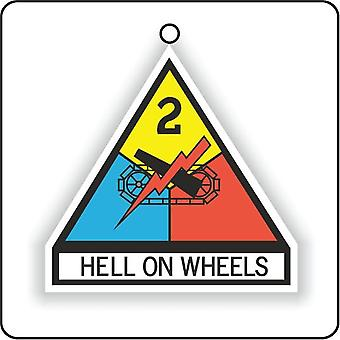 2nd Armored Division Us Army Car Air Freshener