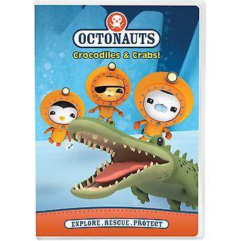 Octonauts: Krokodiller & krabber [DVD] USA importerer