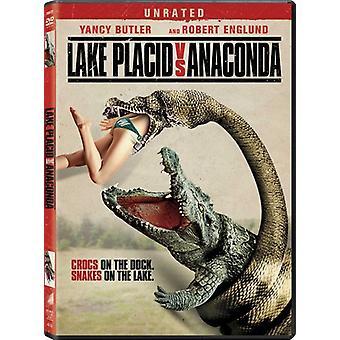 Lake Placid vs Anaconda [DVD] USA import