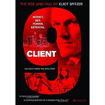 Client 9-Rise & Fall of Eliot Spitzer [DVD] USA import