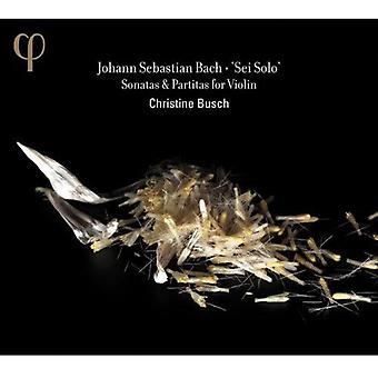 J.S. Bach - Bach: Sei Solo - sonater & Partitas ved Violin [CD] USA import