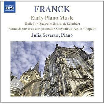 C. フランク - フランク: 初期のピアノ音楽 【 CD 】 USA 輸入