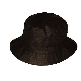 Mens Ladies Adult Classic Country Style Waxed Fabric British Made Bucket Hat