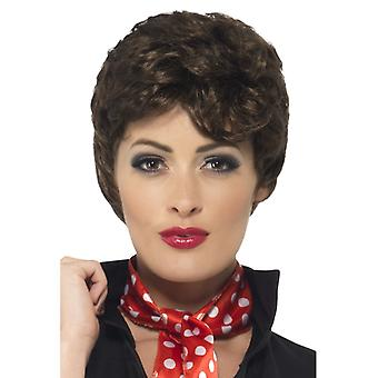 Rizzo wig Brown