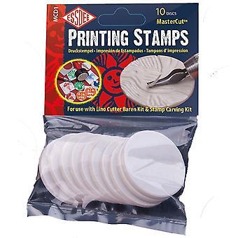 Essdee auto adhesivo Master corte sellos de impresión