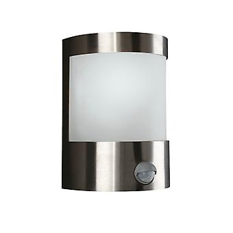 Applique inoxydable 1 x 60 watts 230V luminaire décoration 2402056