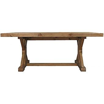 Classic Camrose Reclaimed Large Pine Monestry Fixed Top Coffee Table