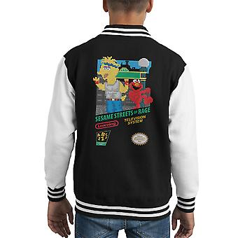 Sesamo Streets of Varsity Jacket Rage capretto