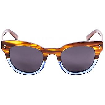 Ocean Santa Cruz Sunglasses - Brown/Blue/Smoke