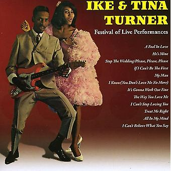 Ike Turner & Tina - Ike & Tina Turner: Festival of Live Perf [CD] USA import