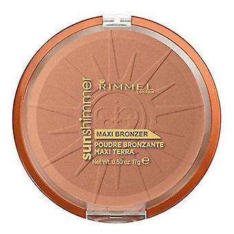 Rimmel London Sun Shimmer Maxi Bronzer Powder (Damen , Make-Up , Gesicht , Make-Up Puder)