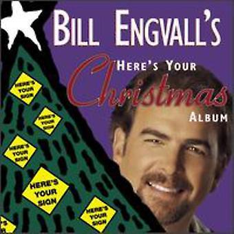 Bill Engvall - aquí es la importación de Estados Unidos de su álbum de Navidad [CD]