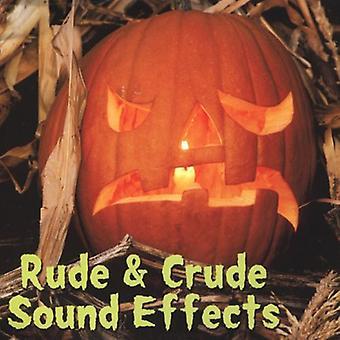 Rude & rå lydeffekter - Rude & rå lydeffekter [CD] USA import