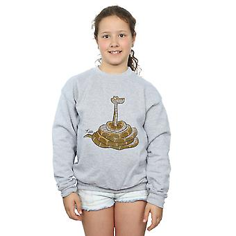 Disney Girls The Jungle Book Classic Kaa Sweatshirt