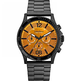 Caravelle New York Men's Logan Chronograph Watch 45A108