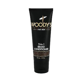 Woodys 2-in1-Bart Conditioner 118ml