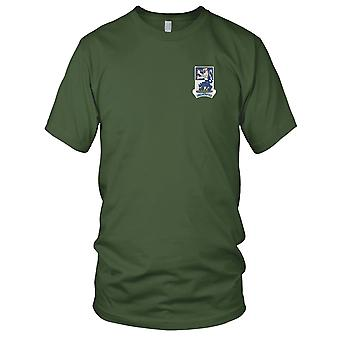 Amerikanske hær - 119th infanteriregiment broderet Patch - Herre T-shirt