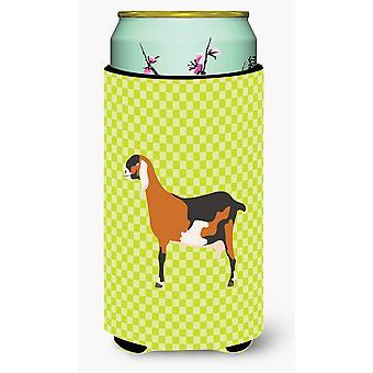 Anglo-nubian Nubian Goat Green Tall Boy Beverage Insulator Hugger