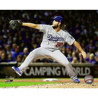 Clayton Kershaw Game 5 of the 2017 National League Championship Series Photo Print