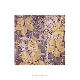Yellow & Gray II Poster Print by Jennifer Goldberger (13 x 19)