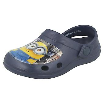 Boys Minions Clogs Whymper