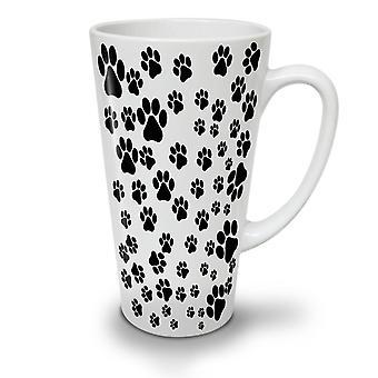 Tiere Hund Pfote Mode neue weißer Tee Kaffee Keramik Latte Becher 17 oz | Wellcoda
