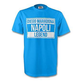 Diego Maradona Napoli Legend Tee (Sky Blue)