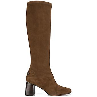 Tory Burch women's 32487212 brown suede boots
