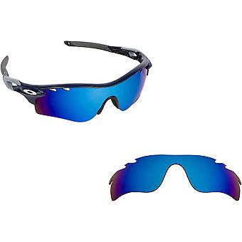 Vented Radarlock Path Replacement Lenses Polarized Blue by SEEK fits OAKLEY