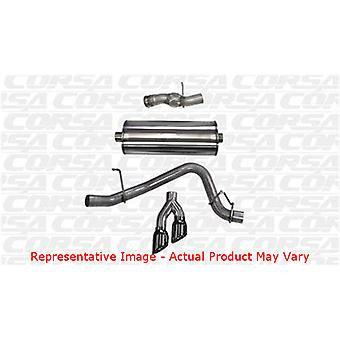CORSA Performance Cat escape 14826BLK pulido negro se adapta: GMC | | 2015-2