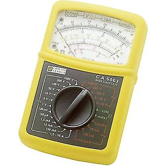 Handheld multimeter Chauvin Arnoux C.A 5003 Calibrated to: Manufacturer's standards (no certificate)