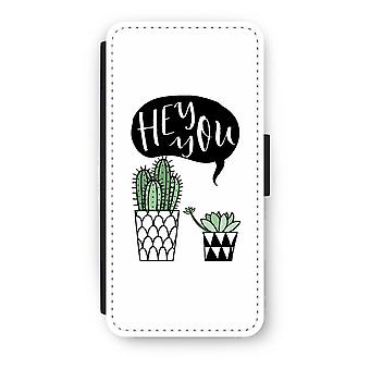 iPhone 7 Flip Case - Hei du kaktus
