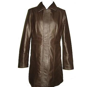 Kylie Womens Leather Coat
