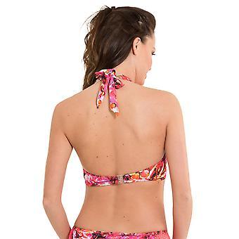 LingaDore 2915WT-153 Women's Paradise Multicolour Motif Swimwear Beachwear Bikini Top