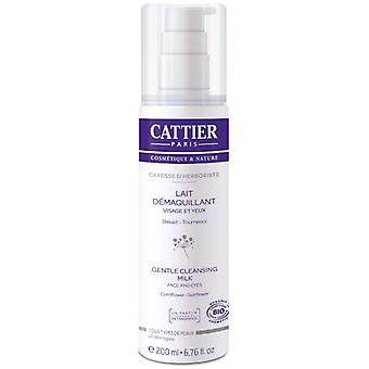Cattier Gentle Cleansing Milk Face And Eyes (Cosmetics , Facial , Facial cleansers)