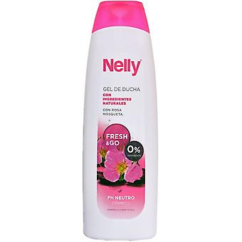 Nelly Rosehip body gel 750 ml (Hygiene and health , Shower and bath gel , Shower gels)