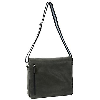 Burgmeister ladies / gents shoulder bag T213-211 leather khaki