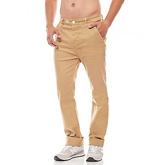 Sweet SKTBS Chino byxor mäns Chino-byxor Brown slim fit