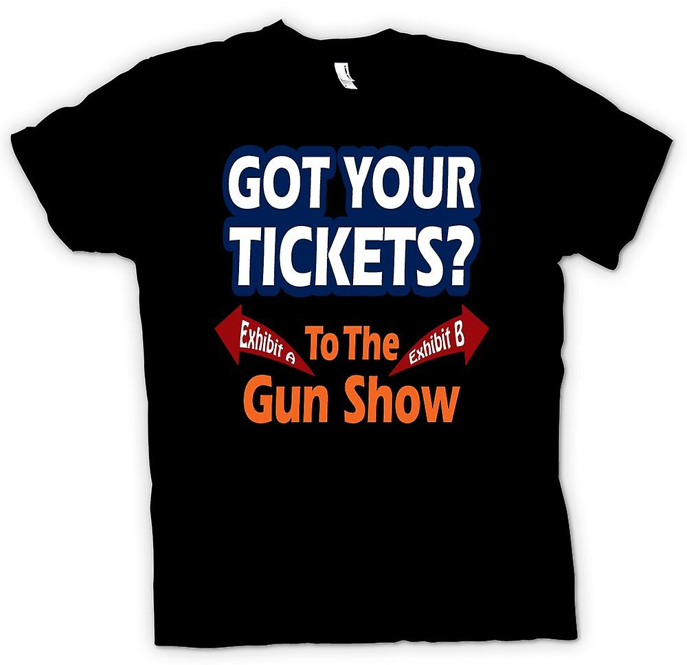 Kids T-shirt - Tickets For Gun Show - Funny