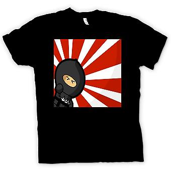 Womens T-shirt - Ninja - Pop Art - Funny