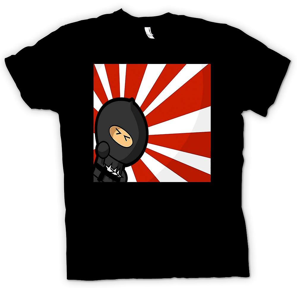 Womens T-shirt - Ninja - Pop Art - grappig