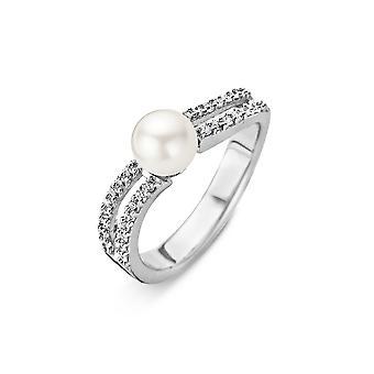 Orphelia argent 925 anneau Shell perles Raille Zirconium ZR-3810