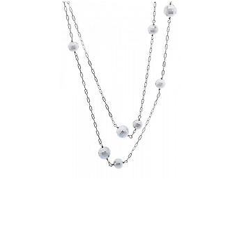 Misaki ladies necklace silver SIRIUSLONG QCRNSIRIUSLONG