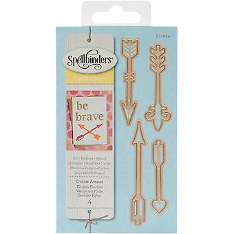 Spellbinders Shapeabilities Die D-Lites-Ornate Arrows