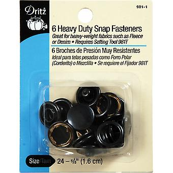Heavy-Duty Snap Fasteners 5/8