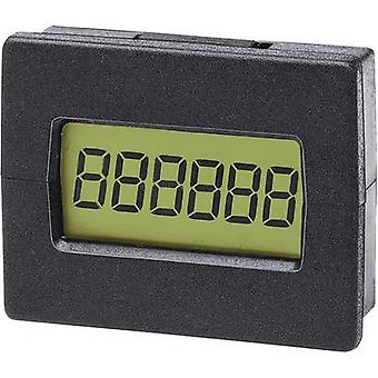 Trumeter 7000ASElectronic mini pulse counter Assembly dimensions 29.4 x 22 mm