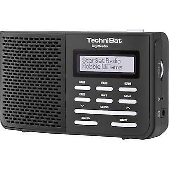 TechniSat DigitRadio 210 DAB + tragbares Radio DAB +, UKW-Black
